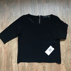 Ivanka Trump Black Blouse